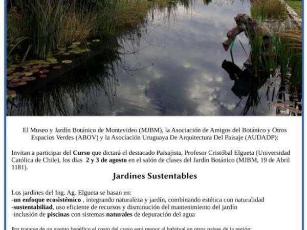 Curso de Jardines Sustentables