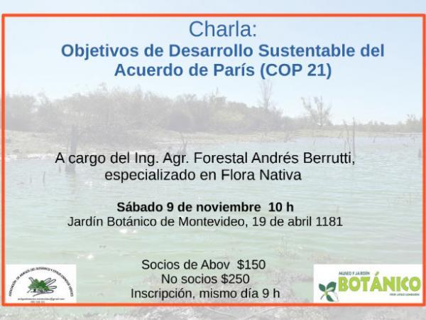 Charla Desarrollo Sustentable - Berrutti