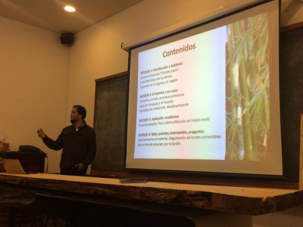 Ing.Agr. Gabriel Arenales Curso Bambú 2018