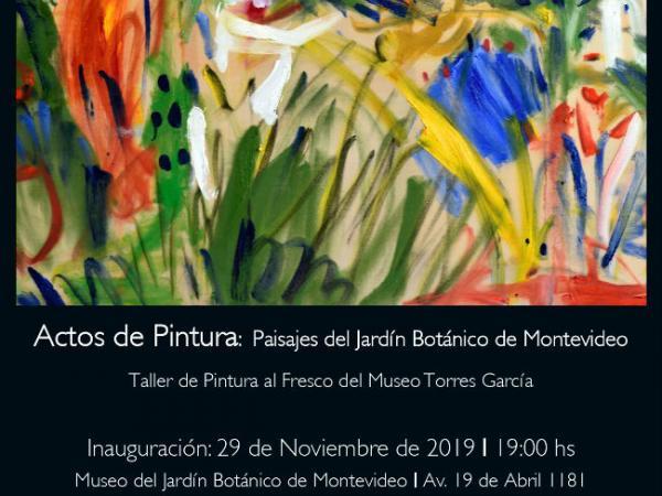 Inauguración exposición Taller de pintura