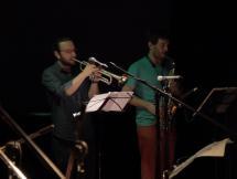 Nicolás y Emiliano Músicos de la Banda