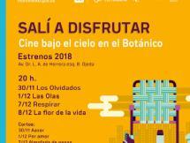 Cine en el Botánico Cuarta Edición