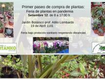 Feria de Plantas Setiembre 2020