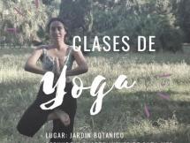 Yoga en el Jardín Botánico