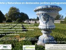 Charla, Arte y naturaleza jardines portugueses