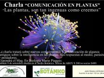 Charla, Comunicación en plantas
