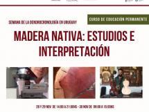 Madera Nativa: Estudios e Interpretación Charla y Curso