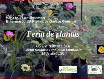Feria de plantas setiembre 2019